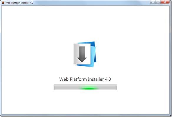 Web Platform Installer 4.0