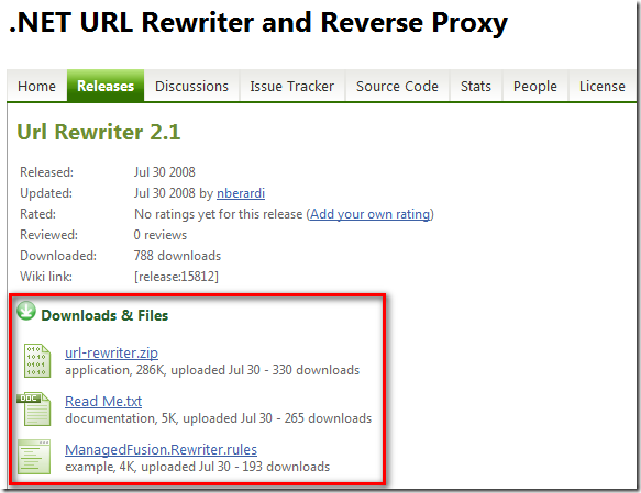 .NET URL Rewriter and Reverse Proxy