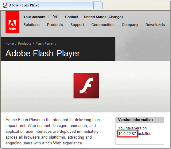 Adobe - Flash Player