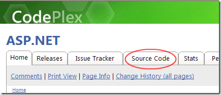 CodePlex - ASP.NET