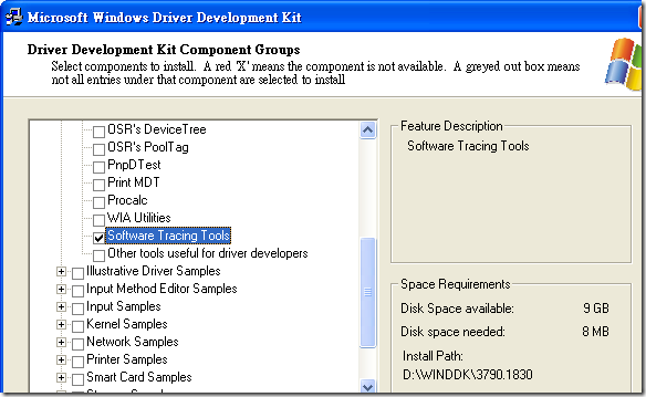 Microsoft Windows Driver Development Kit