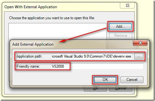 Open With External Application ( 以其他外部程式開啟檔案 )