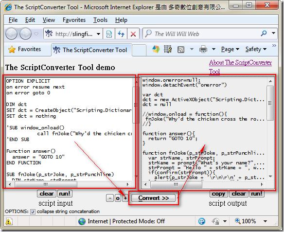 The ScriptConverter Tool