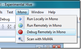 Mono Tools for Visual Studio Preview Released