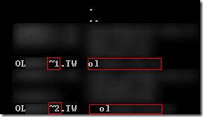 當我改完目錄名稱後,盡然目錄變成了兩個「完全同名」的目錄 ( 因為目錄前的空白檔案總管不會顯示 ),也就是說那個無效的目錄「刪不掉」啊!